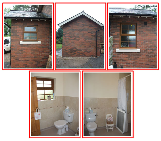 easy access, walk-in, shower room with toilet